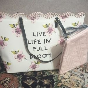 betsey Johnson flower tote!